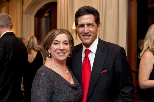 Sally Afable and Dr. Richard Afable, President & CEO, St Joseph Hoag Health