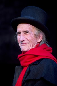 Hal Landon Jr. in the 2013 production of A Christmas Carol