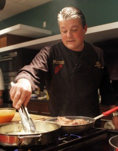 Chef Yvon Goetz of The Winery - our favorite chef and restaurant of the year