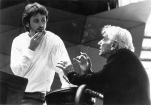Pacific Symphony Music Director Carl St.Clair and Leonard Bernstein