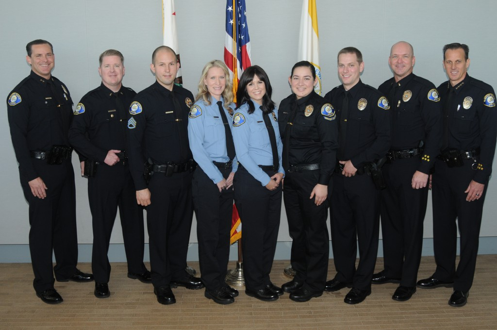 Newport Beach Police Department promotes and swears in officers
