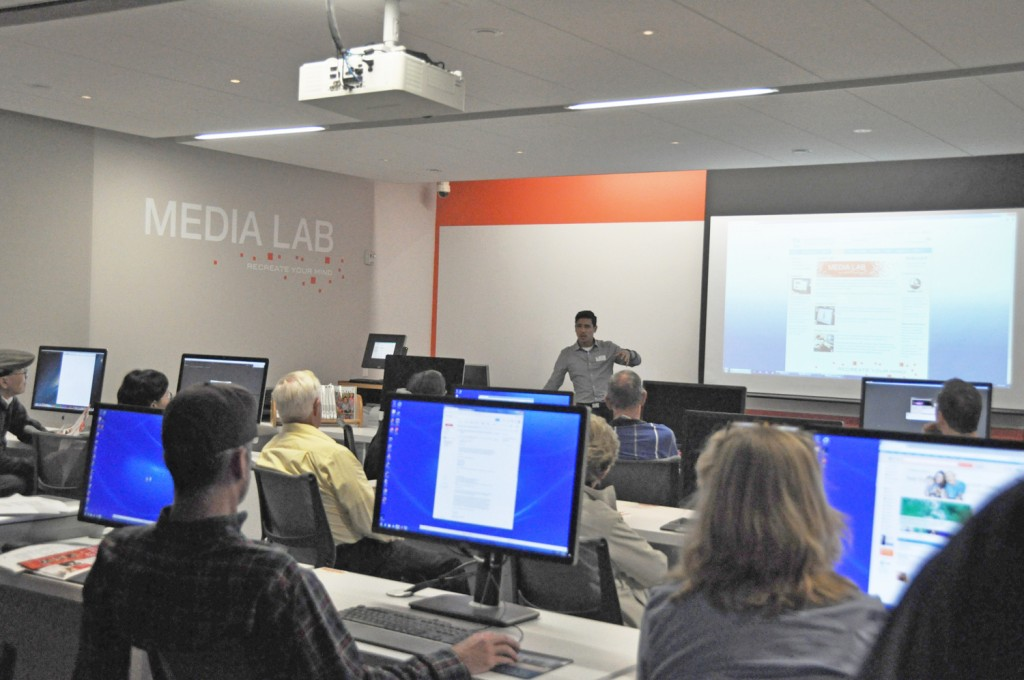 Newport Beach Public Library Media Lab