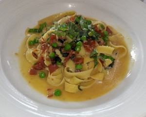 Lunch entree at Modo Mio for Newport Beach Restaurant Week