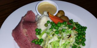 Corned Beef and Cabbage at Muldoon's