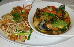 Royal Thai dinner entrée for Newport Beach Restaurant Week