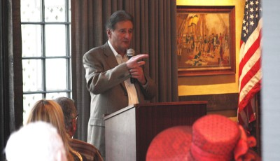 Mayor Ed Selich at Corona del Mar Chamber of Commerce luncheon