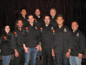 Newport Beach chefs participating in Table for 10