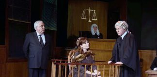 """Witness for the Prosecution"" at Newport Theatre Arts Center"
