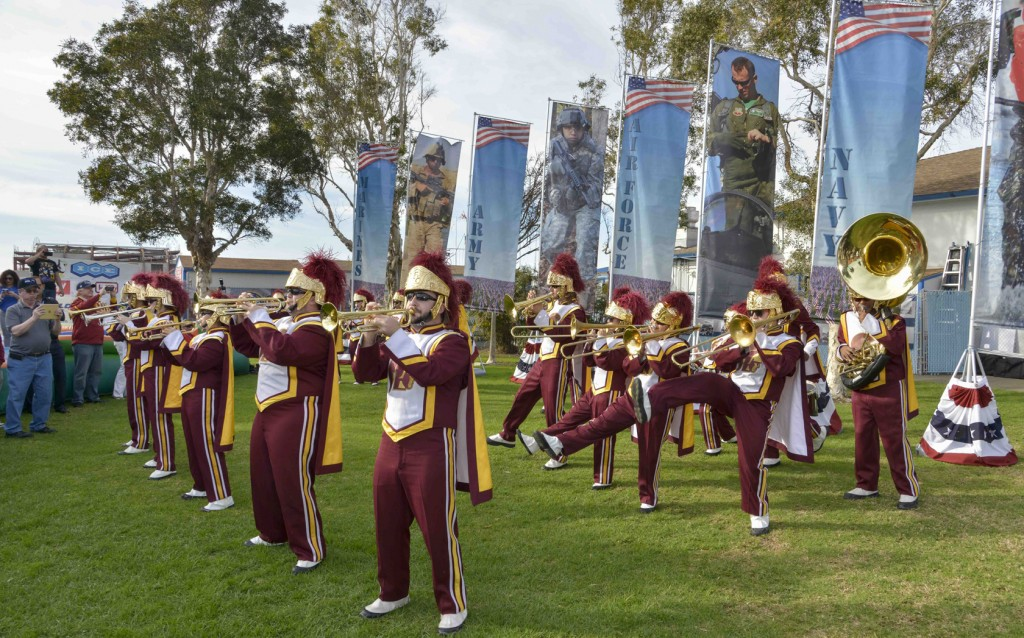 USC Band at Super Bowl event