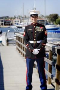 Brent Theobald, a USMC Combat Veteran