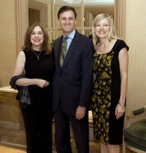 Alida Hondas, John E. Forsyte, President of the Pacific Symphony, and Michele Forsyte