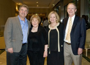 Event Co-chair Mike Kerr, Event Co-chair Valerie Van de Zilver, Wendy Salter, Event Co-chair Fred Salter