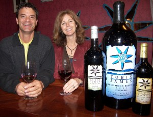 Lance and Claire Silver of Tobin James Cellars
