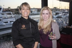 Chef Deborah Schneider of SOL and Indy writer Catherine Del Casale