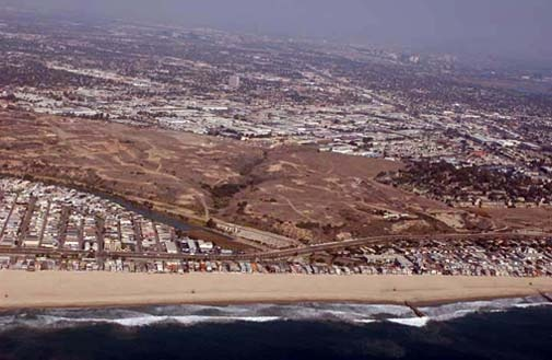 Banning Ranch site.  — Photo courtesy city of Newport Beach