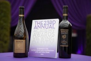 Bianchi wines at Elton John's Academy Awards viewing party