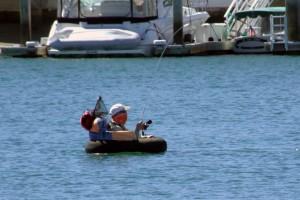 Fishing in Newport Harbor