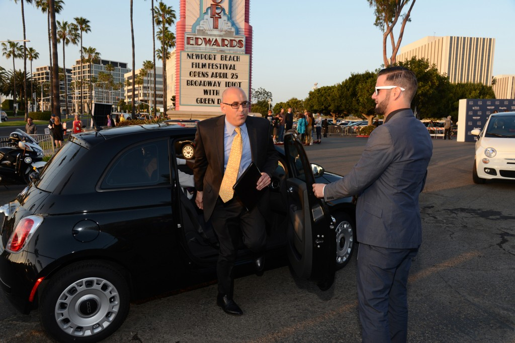 Newport Beach Film Festival CEO Gregg Schwenk arrives at the event last year.  — NB Indy photo ©