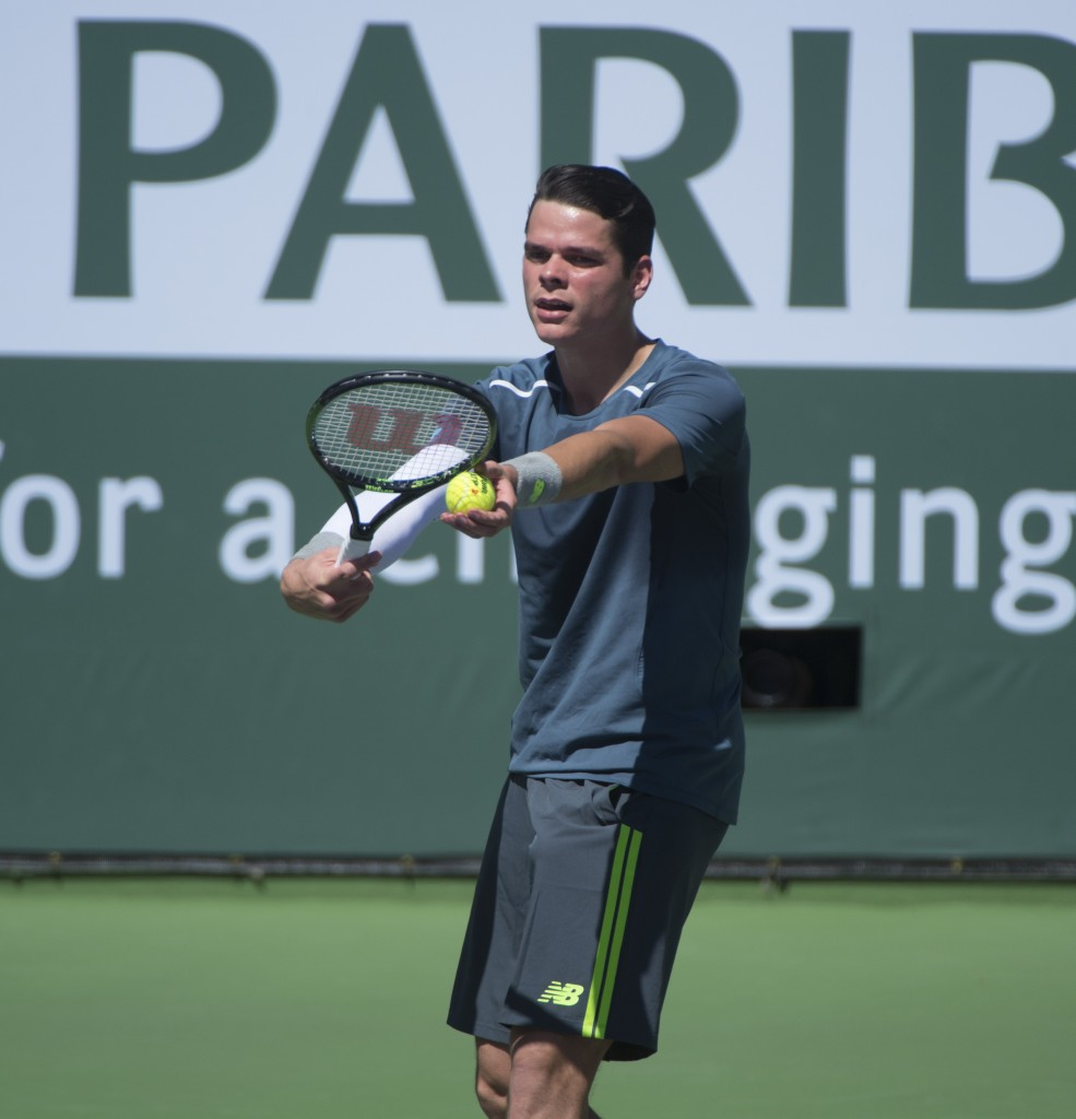 Milos Raonic — Photo by Lawrence Sherwin ©