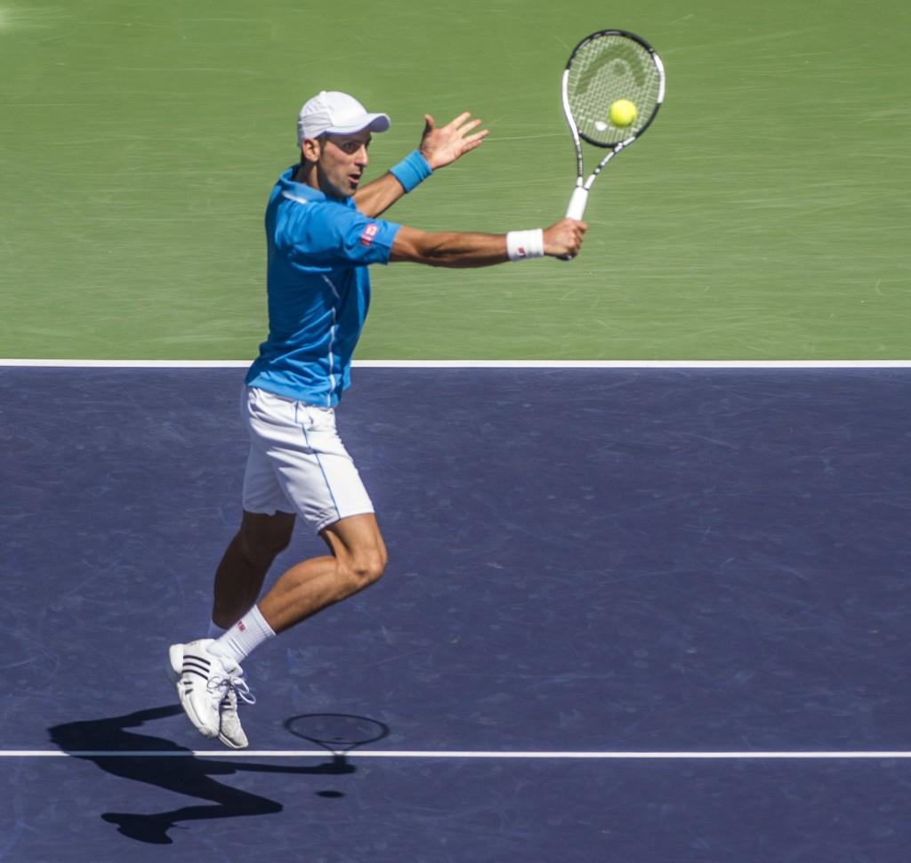 Novak Djokovic — Photo by Lawrence Sherwin ©