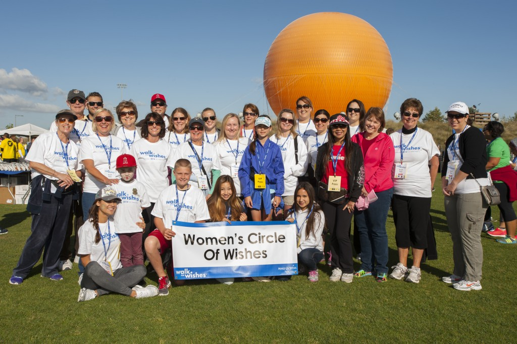The 2014 Women's Circle of Wishes walking team. — Photo courtesy MAW OCIE