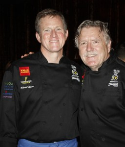 Chef Andrew Sutton and Chef Pascal Olhats of Café Jardin in Corona del Mar