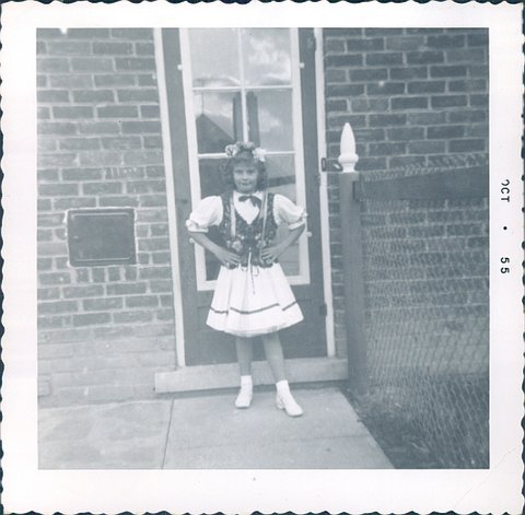 Bernadette Senn in a Polish costume when she was 8 years old. — Photo courtesy Bernadette Senn ©