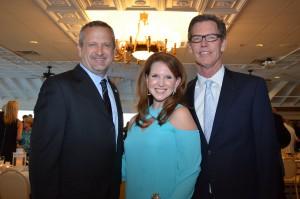 Olive Crest CEO Donald A. Verleur, Ralphs VP Kenra Doyel, Olive Crest's Board of Directors Chair Jim Woodside