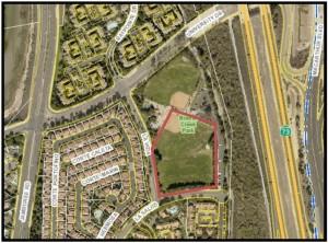 Map of Bonita Creek Park