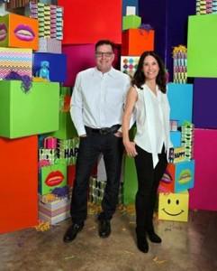 Jayne and Mike Flinn of Boxfli. — Photo courtesy Boxfli