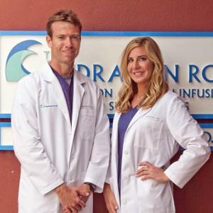 Dr. Brett Florie and Dr. Elizabeth Bales