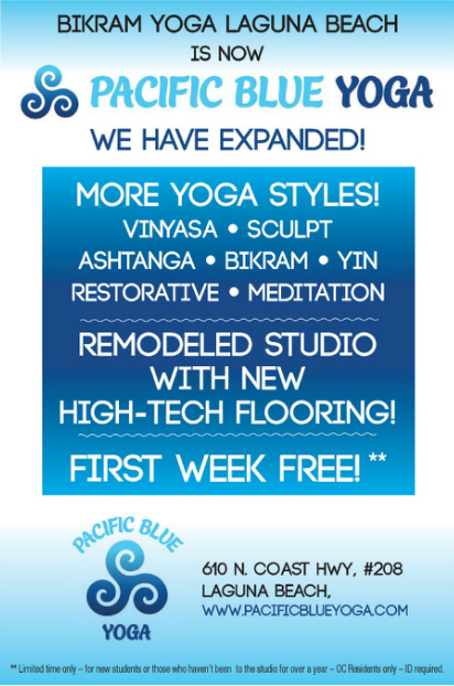 First Week Free At Pacific Blue Yoga Newport Beach News
