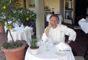 Chef Pascal Olhats at Sherman Library & Gardens