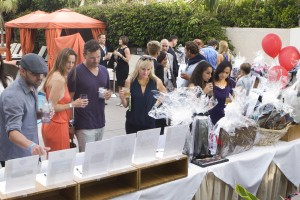 Gritty Up guests bid on silent auction items