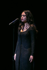 Sophie Neely performing at Season Finale