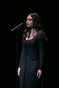 Sophie Neely performing at Season Finale