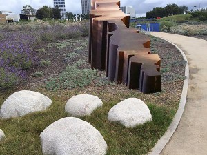 Proposed artwork for the city's Civic Center Park sculpture exhibition. — Photo courtesy city of Newport Beach