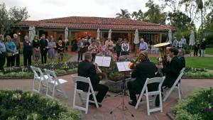 Al fresco music