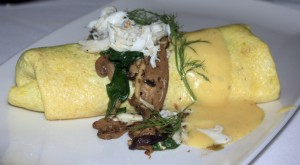 Crab Omelet at Fleming's
