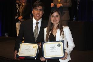 Jose Avonce and Caroline Quigg