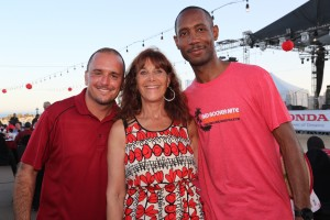 Newport Beach resident Anthony Saba, head of school at Orangewood Children's Foundation: The Academy, Corona Del Mar resident Susan Samueli, co-chair of the board for Orangewood Children's Foundation and vice president of The Samueli Foundation, and Anthony Mays, software engineer for Google.