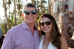 Newport Coast residents Joe Lozowski, president of Tangram Interiors and board member of the Orangewood Children's Foundation, and his wife Sonya Lozowski.