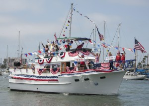 Old Glory Boat Parade / photo  by Charles Weinberg