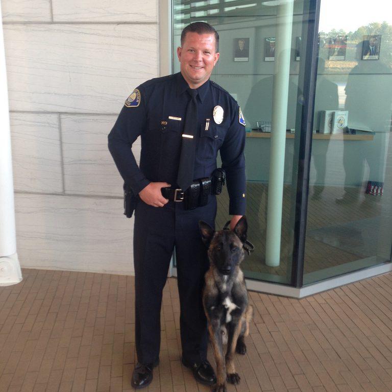 Police Dog Joins NBPD Team