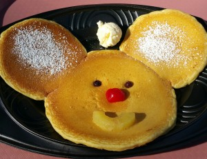 Mickey Mouse pancakes