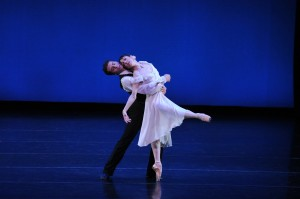Lorena Feijoo and Vitor Luiz of the San Francisco Ballet. Photo by Dave Friedman