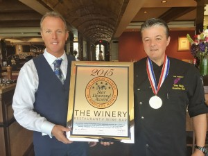 JC Clow and Yvon Goetz of The Winery