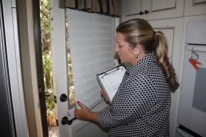 Checking door locks