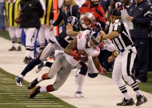 Laird Hayes makes a call in Super Bowl XLVI that changed the outcome of the game.