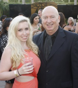 Catherine with Anaheim White House owner and chef Bruno Serato